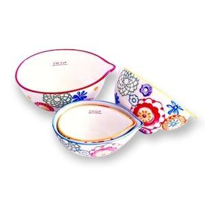 PIER 1 Multi-Colour Nesting Measuring Bowls